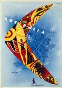 Boomerang. Australian Travel Poster by Gert Sellheim